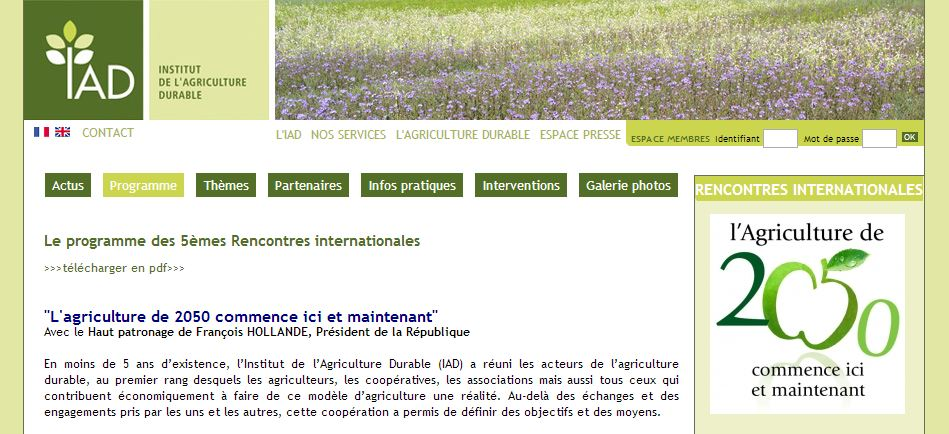 l'agriculture 2020 commence ici