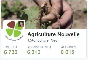 Compte Twitter agriculture nouvelle